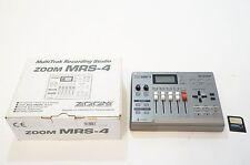 ZOOM MRS-4 MultiTrak Recording Studio w/ SmartMedia
