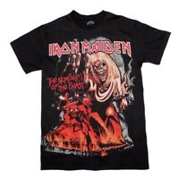 Iron Maiden Number of the Beast T-Shirt  Fathers Day