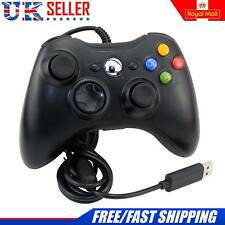 2017 USB CABLATO XBOX 360 CONTROLLER GAME PAD PER MICROSOFT XBOX 360 PC Windows UK