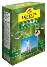 Loretta Superrasen 1 kg für ca. 50 m²  Rasensamen, Grassamen