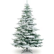 7ft Snowy Flocked Noble Pine Tree Artificial Christmas Tree Best Seller!