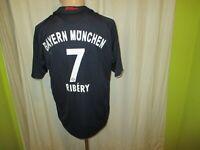 FC Bayern München Adidas Auswärts Trikot 2008/09 + Nr.7 Ribery Gr.S- M TOP