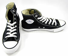 Converse Shoes Chuck Taylor Hi All Star Black/White Sneakers Men 7.5 Womens 9.5