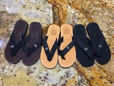 3 New Swiss Mens Flip Flops Beach Sandals Lightweight EVA Sole Comfort Thongs