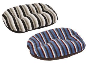 Puppy Dog Soft Sherpa Fleece Machine Washable Oval Cushion Cosy Gor Pets Monza