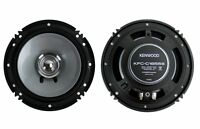 "2) Kenwood KFC-C1655S 6.5"" 300 Watt Car Audio Dual Cone Speakers Stereo"