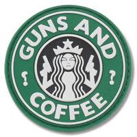 "Tru Spec 6786000 5ive Star Gear Guns and Coffee PVC Morale Patch - 2-1/4"" Round"