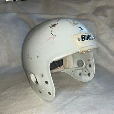 GAME USED / WORN VINTAGE BIKE PRO EDITION FOOTBALL HELMET - MEDIUM - White!!!