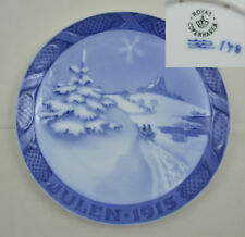 Royal Copenhagen - Weihnachtsteller 1915 - Christmas plate 1915