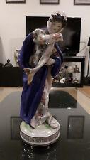 Antique German Porcelain Dresden Figurine Figure Beautiful Lady