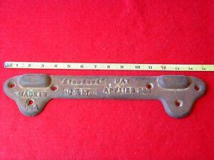"Vintage ""STANDARD"" Sink Wall Mounting Bracket Cast Iron 10 1/2"""