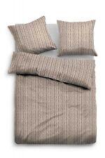 Flanellbettwäsche TomTailor Biber beige TOM TAILOR 9509-8261 (BL 135x200 cm)