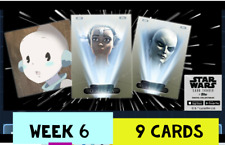 topps star wars card Trader WEEK 6 TIER 6 IMPERIAL OFFICE OLIVE 9 Card Set