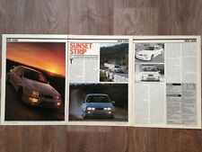 Ford Sierra Rs Cosworth 1985 - Contemporary Road Test Article