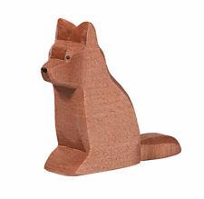 Liegener Hund Holz Tier Figur Kinder Spielzeug KTier68