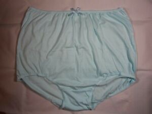 Emmie Briefs Plus Sizes 28 to 42 Womens Cotton Full Knickers Pants Blue