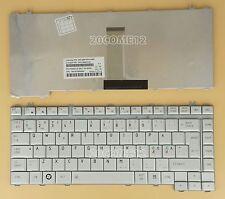 for TOSHIBA Satellite A350 A350D L450 L450D L455 L455D Keyboard Nordic Silver