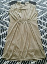 KK KARDASHIAN KOLLECTION Gold Stretch Sexy Shiny Evening Fitted Dress 12/14