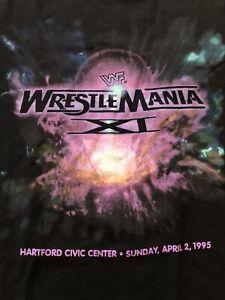 Vintage t-shit 1995 WWF WrestleMania Hartford Civic Center Tee SzXXL Mint