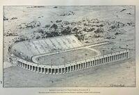 1914 Stadium and College Athletics Harvard Syracuse Yale Princeton