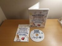 NINTENDO WII - ULTIMATE BOARD GAME COLLECTION - COMPLETE WITH MANUAL - FREE P&P