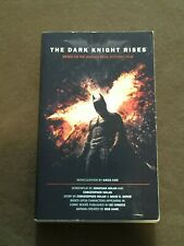 The Dark Knight Rises Paperback Book 1st edition 1st printing 2012