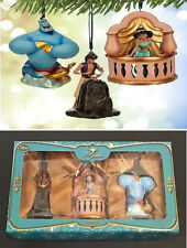 Disney Store Art of Jasmine Ornament Set Limited Edition of 1000 Aladdin Genie