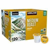 Kirkland Signature Organic Coffee K-Cups, Medium Roast - 120 Count AB condition