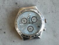 SWATCH Irony AG1997 CHRONOGRAPH 40 mm quartz watch head swiss made SPARES