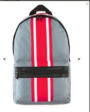 TOPMAN  Grey And Red Striped Rucksack Backpack Bag NEW!