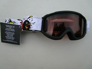 """Youth SMITH SIDEKICK """"ANGRY BIRDS"""" RC36 goggles snowboard, skiing age 3 and up"""