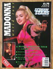 Madonna  World Tour  1990 UK Screen Stars Magazine Vol.1 No.1         Excellent