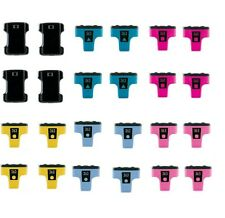 24 Tinte PATRONEN für HP Photosmart 3310 C5180 C6180 C6280 C7280 D7180 D7260 363