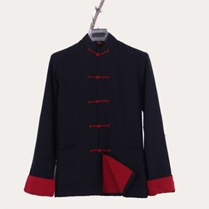 Double deck Long Sleeve100% Cotton Traditional Chinese Kung Fu Tai Chi Uniform