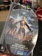 BATMAN ARKHAM ASYLUM JOKER WITH SCARFACE FIGURE Free Priority Shipping**********