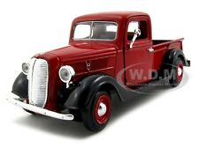 1937 FORD PICKUP TRUCK RED 1:24 DIECAST MODEL CAR BY MOTORMAX 73233