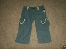Ralph Lauren new girls cropped jean pants size 10 NWT