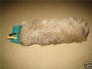 LoGundog training 1lb half covered rabbit skin dummy
