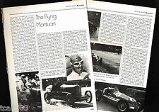 Tazio NUVOLARI GP/F-1 Formula 1 One History Article / Photos / Pictures