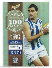 2013 Champions AFL Milestone Game (MG51) Lindsay THOMAS North Melbourne