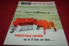 Ford Tractor 150 Baler Dealers Brochure AMIL15