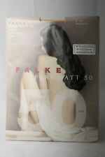 Falke ~ PURE MATT 50 ~ semi opaque tights BNWT ~ Med/Large mustard yellow