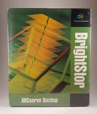 BRIGHTSTOR ARCSERVE BACKUP VERSION 9 FOR WINDOWS UPGRADE