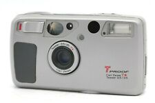 【N.MINT】 Yashica T5 T4 Super Kyocera T Proof  Zeiss Tessar 35mm Lens  From JAPAN
