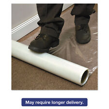 ES Robbins Roll Guard Temporary Floor Protection Film for Carpet 36 x 2400 Clear