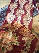 Vintage Rose Copper Flowered Drapes Curtains Amazing