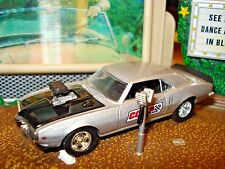 "1968 68 PONTIAC FIREBIRD 400 LIMITED EDITION 1/64 SILVER M2 ""COMP CAMS"" RACE CAR"