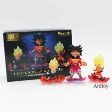 3 Pcs/Set Dragon Ball Z Legend Of Saiyan Pvc Action Figure Collectible Model Toy