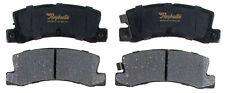Disc Brake Pad Set-Ceramic Disc Brake Pad Rear ACDelco Pro Brakes 17D325C