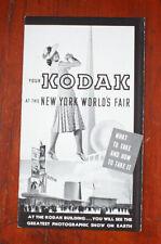 Kodak 1939 New York World'S Fair Sales Brochure, 7750/cks/197243